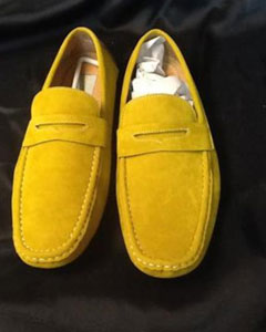 a2b6c66621e4 Carry a Unique Style In The Yellow Dress Shoes Mens